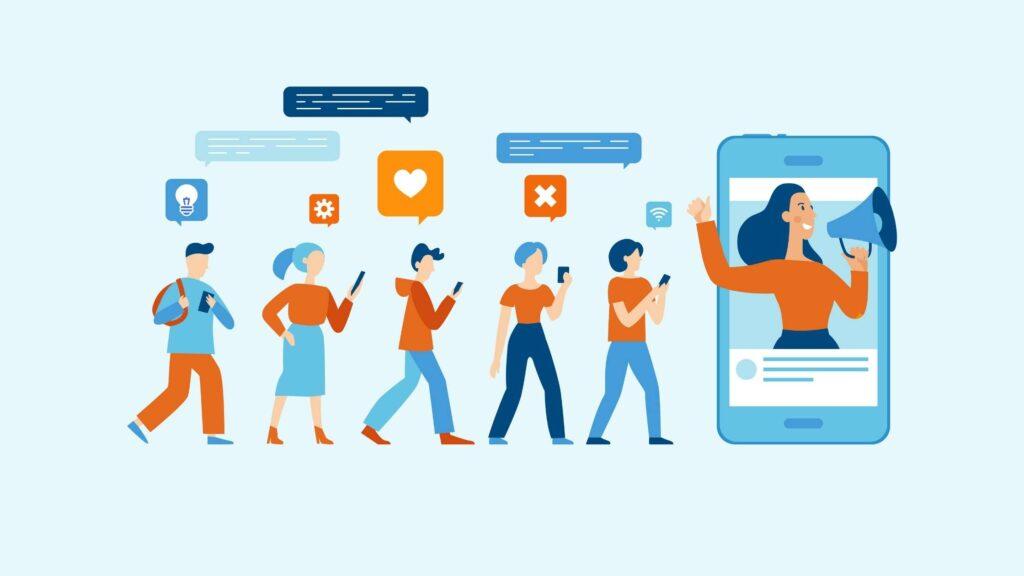 imagen representa influencer marketing para blog t7marketing